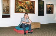 Polo dans sa Gallerie à Jakarta, père de Roger Rougan