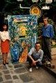 Gustini-Roger Rougan et Polo Rouganiou.-Jakarta 1991