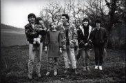 Alain- Pauline- Layla- Roger....1987