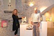 Expo Reflets et pierre - Rougan\'s Art & Jde - Abbaye de Bouchemaine