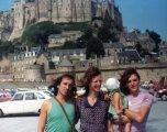 Polo- Darlene- Layla- Roger -Mont St Michel 1976