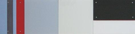 Trans Trames 1 1994 (20x80) Acryl sur bois