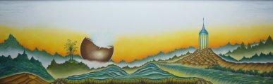 Dream Symphony - pastel -32x72 - 2010