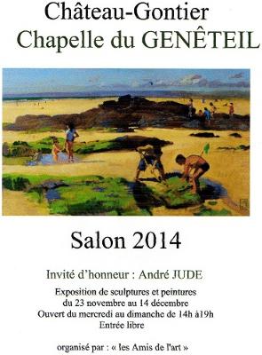 Salon Chateau- Gontier_ La Chapelle de Genêteil 2014_ Layla Rougan