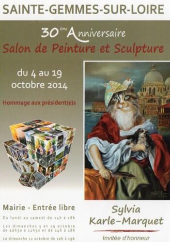Expo Sainte Gemmes sur Loire- du 4 au 19 octobre 2014 - L.Rougan
